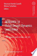 ROMANSY 18   Robot Design  Dynamics and Control