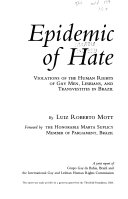 Epidemic of Hate