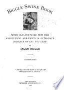 Biggle Swine Book