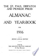 St  Paul dispatch and Pioneer Press almanac and yearbook
