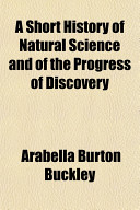download ebook a short history of natural science and of the progress of discovery pdf epub