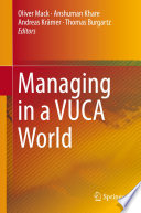 Managing In A Vuca World