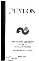 Phylon  the Atlanta University review of race and culture