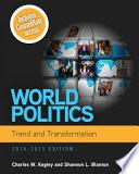 World Politics  Trend and Transformation  2014   2015