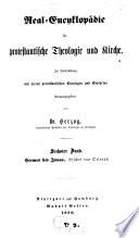Real encyclop  die f  r protestantische Theologie und Kirche
