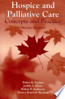 Hospice and Palliative Care  Concepts and Practice