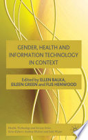Gender  Health and Information Technology in Context