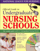 Official Guide to Undergraduate Nursing Schools
