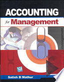 Accounting For Management Free download PDF and Read online
