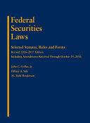 Federal Securities Laws 2017