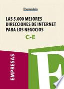 Sectores C E   Las 5 000 mejores direcciones de internet para los negocios
