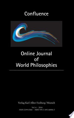 Confluence: Online Journal of World Philosophies - ISBN:9783495468043