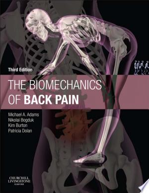 The Biomechanics of Back Pain - Elsevieron Vitalsource - ISBN:9780702054495