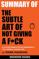 The Subtle Art Of Not Giving A F Ck [Pdf/ePub] eBook