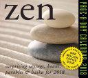 Zen Page A Day Calendar 2018