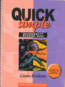 Quick Simple Microsoft Access 2000