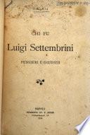 Chi fu Luigi Settembrini