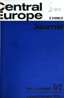 Central Europe Journal