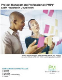 Project Management Professional  Pmp  Exam Preparation Courseware