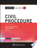 Casenote Legal Briefs for Civil Procedure  Keyed to Yeazell