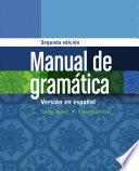Manual de gram  tica  En espanol