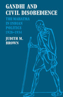 Gandhi and Civil Disobedience