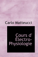 Cours D  Lectro Physiologie