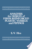 Analysis for Design of Fiber Reinforced Plastic Vessels