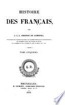 Histoire des Fran  ais