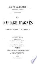 Le Mariage d Agn  s