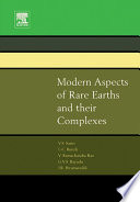 Modern Aspects Of Rare Earths And Their Complexes