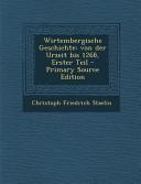 Wirtembergische Geschichte