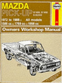 Mazda Pick Up Owners Workshop Manual
