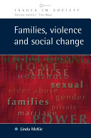 Families, Violence and Social Change