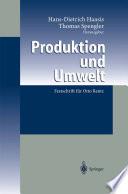 Produktion und Umwelt