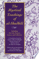 The Mystical Teachings of al Shadhili