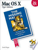 Mac OS X: The Missing Manual, Tiger Edition