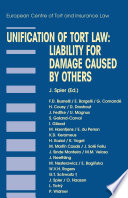 Unification of Tort Law: Liability for Damage Caused by Others
