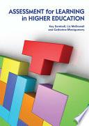 illustration Assessment for Learning in Higher Education