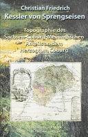 Topographie Des Sachsen-coburg-meiningischen Anteils an Dem Herzogtum Coburg