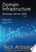 Windows Server 2016  Domain Infrastructure