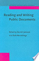 Reading and Writing Public Documents