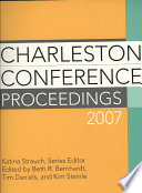 Charleston Conference Proceedings 2007