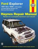 Ford Explorer Mazda Navajo Mercury Mountaineer Automotive Repair Manual