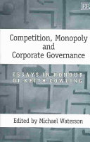 Competition  Monopoly  and Corporate Governance