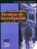 T Cnicas De Investigaci N En Sociedad Cultura Y Comunicaci N