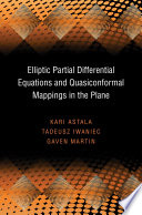 Elliptic Partial Differential Equations and Quasiconformal Mappings in the Plane  PMS 48