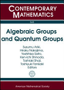 download ebook algebraic groups and quantum groups pdf epub