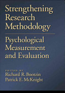 Strengthening Research Methodology