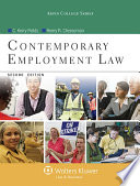 Contemporary Employment Law